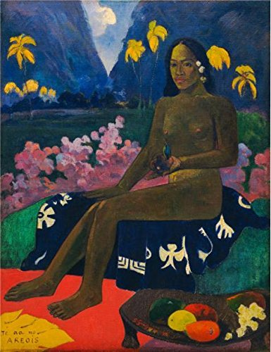 Oil Painting 'Paul Gauguin-The Seed Of The Areoi,1892', 12 x 16 inch / 30 x 40 cm , on High Definition HD canvas prints is for Gifts And Garage, Nursery - Order Sunglasses Mail