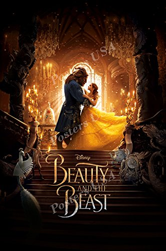 Beast Poster Movie - Posters USA Disney Beauty and the Beast Movie Poster GLOSSY FINISH - MOV826 (24