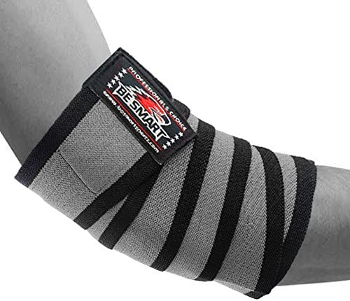 Be Smart Elbow Sleeves Pair Powerlifting Elbow Support