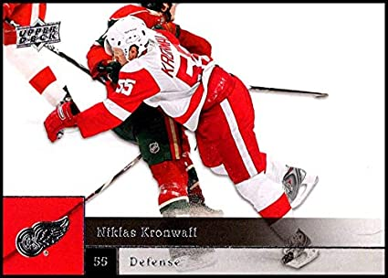 3e9b0d846 2009-10 Upper Deck  125 Niklas Kronwall NM-MT Detroit Red Wings Official