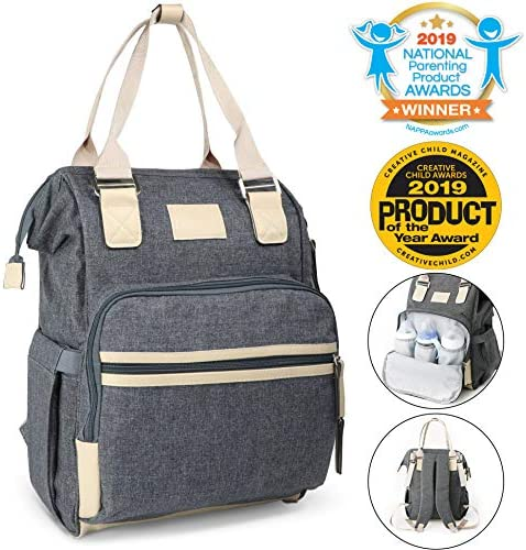 Kids Such Chambray Diaper Backpack