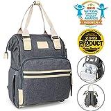 Diaper Bag Backpack, Kids N' Such Multifunction Travel Back Pack Large Baby Bag
