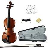 Kinglos PJCJ-1001 1/4 Solid Wood Student Acoustic Violin Fiddle Starter Kit