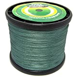 Free Fisher 4 Strands Super Dyneema Strong PE Fishing Braids Green 1000m/1000+yds 8.0# 0.50mm 36kg 80lb Review