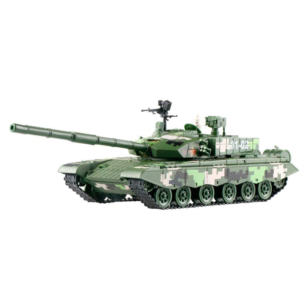 Kinder Panzer Spielzeug, Panzer Modell - Militär - Panzer Modell Spielzeugauto - Militär Legierung gepanzerte Streitwagen Spielzeug Metall Schmuck (Kinder über 2 Jahre alt) f4f483