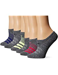 Women's Superlite Super No Show Socks (Pack of 6)