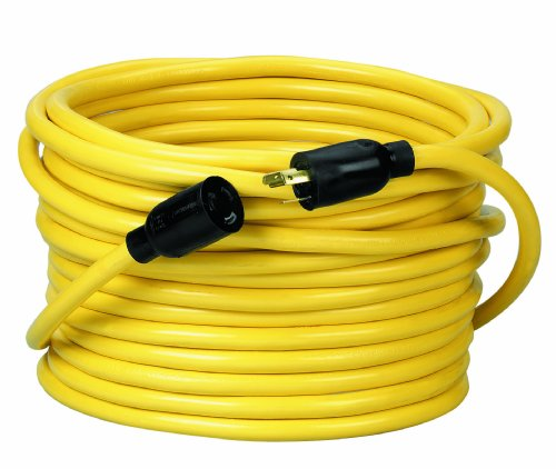 Type Sjtw 12/3 Cord - Coleman Cable 92098802 09209 12/3 SJTW 300-Volt Extension Cord, 100-Ft, Yellow