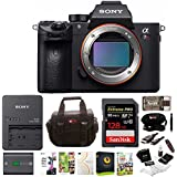 Sony Alpha a7RIII Mirrorless Digital Camera w/ Battery and Charger & 128GB SDXC Accessory Bundle