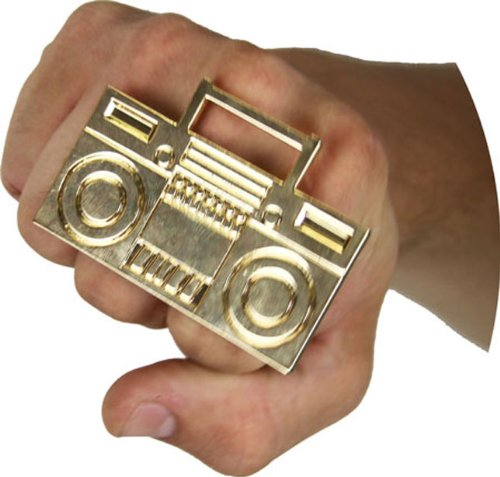 (Boom Box Ring - One Size)