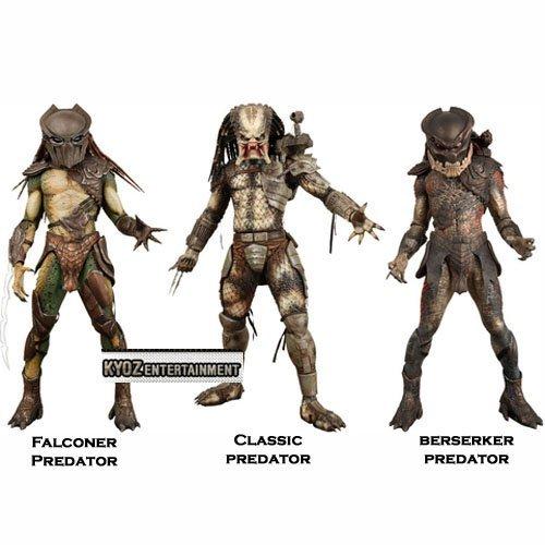 NECA Predators Action Figures Series 1:Set of - Figure Predator Set