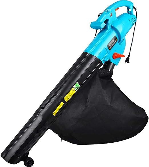 YiYi Blowers Soplador de Hojas 3 en 1 - Aspiradora y trituradora de jardín de 3000 W -