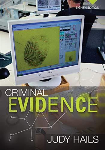 Pdf Law Criminal Evidence