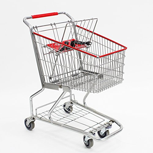 Mini Metal Wire Grocery Shopping Cart Retail Store Supplies Fixture Lot of 6 NEW by OEM