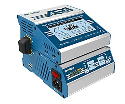 EV-PEAK 300W 25A RC Charger for Lipo/LiHV/LiFe/NiMH/NiCd/Pb Battery with 24V 14.5A Lipo Charger Power Supply