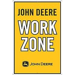 John Deere Metal Sign, John Deere Work Zone