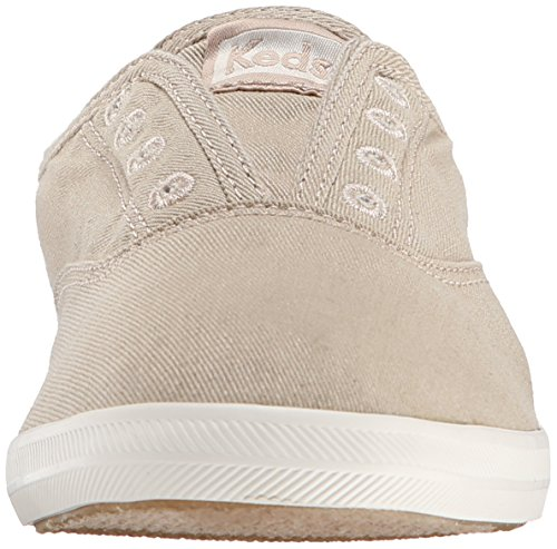 Keds Womens Chillax Washed Laceless Slip-On Sneaker Taupe XKrlGIzukK