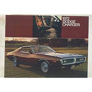 1972 Dodge Charger Brochure