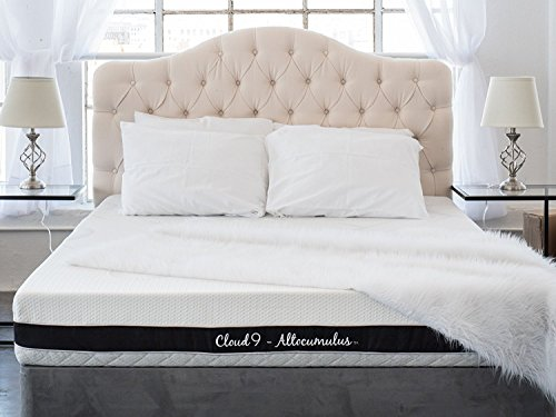 Cloud 9 Closed Cell Foam Mattress: Plush Twin 6in, True Adaptive Support, Zero Pressure Points, Sleeps Cool, Tencel Fabric, USA Made, Certi-PUR & Oeko-Tex 100 Certified, 10-Yr Wty, 100 day trial Review