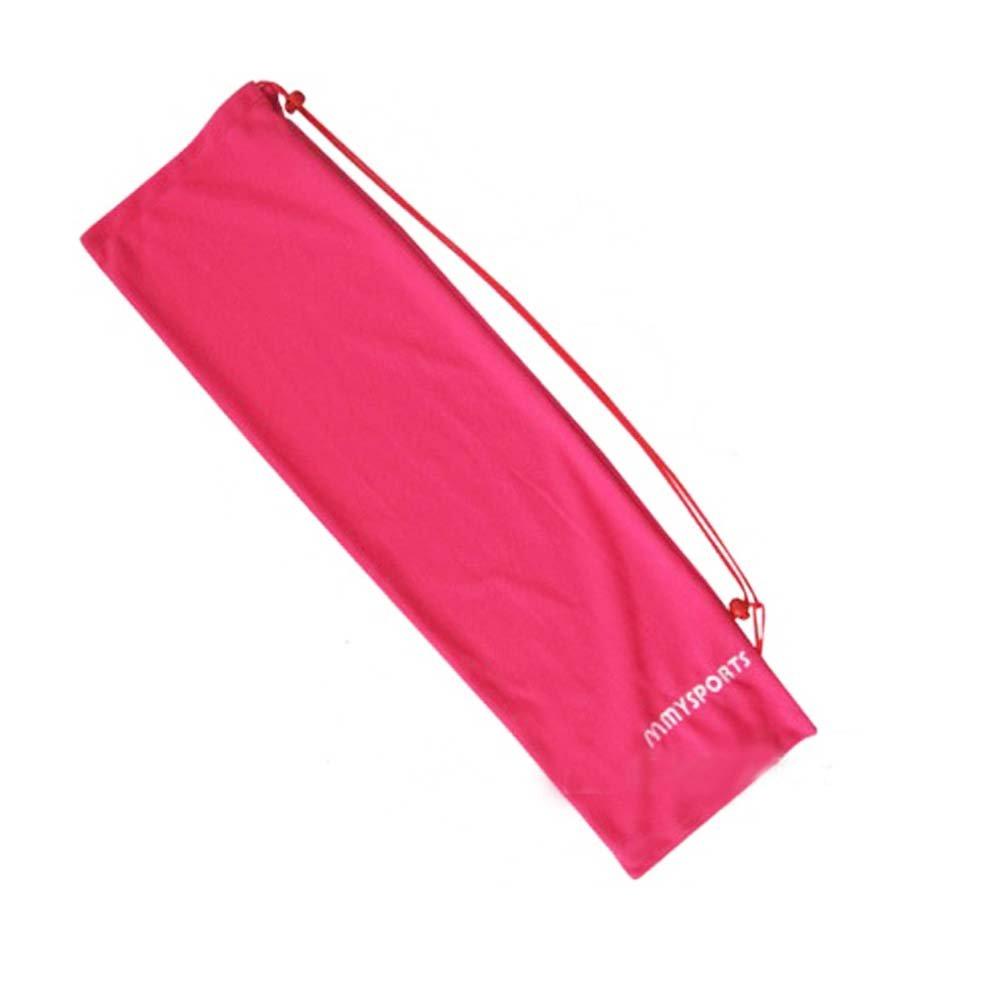 Flanneletteバドミントンラケットバッグ、ピンク B06XSYNZXW
