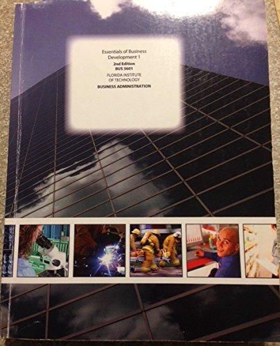 Download Essentials Business Development (Florida Tech) ebook
