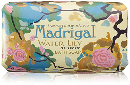 Claus Porto Milled Soap - Claus Porto Madrigal Water Lily, 5.3 Ounce