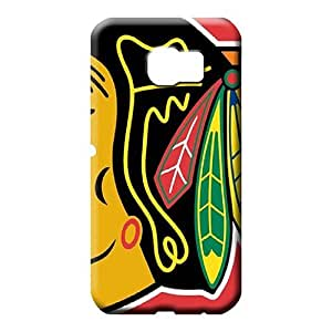 samsung galaxy S7 edge covers Hot trendy mobile phone skins chicago blackhawks