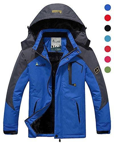 CIOR Men and Women Snow Jacket Windproof Waterproof Ski Jack