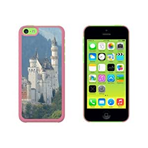 Allgau Neuschwanstein Fairy Castle Mountains Snap On Hard Protective Case for Apple iPhone 6 4.7 - Pink