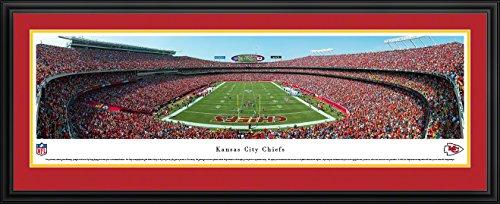 Kansas City Chiefs - End Zone at Arrowhead Stadium - Panoramic Print
