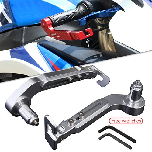 Adjustable Motorcycle Levers (NEVERLAND 2Pcs Lever Guards 7/8