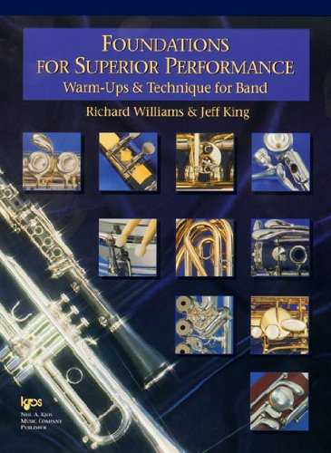 Foundations for Superior Performance: Warm-Ups and Technique for Band - Conductor Score ()