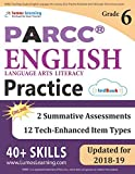 PARCC Test Prep: Grade 6 English Language Arts Literacy (ELA) Practice Workbook and Full-length Online Assessments: PARCC Study Guide