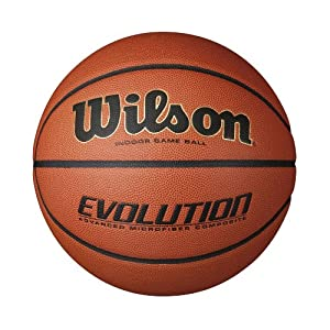 "Wilson Evolution Indoor Game Basketball Official (29.5"") from Wilson"