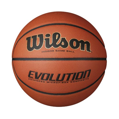 Wilson Evolution Indoor Game Basketball, Size 6 (28.5-Inch)