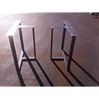 Metal Table Legs, T-Shaped Style - Any Size and Color!