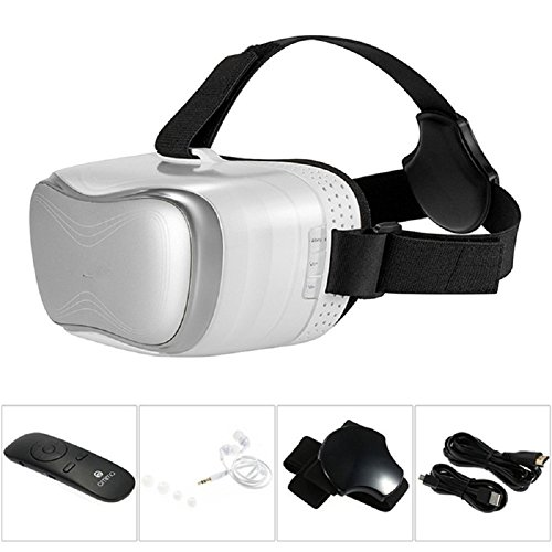 Omimo Immersive Virtual Reality Helmet VR Glasses with Display 1080p For PC  Xbox 360 Games with Like Oculus HTC VIVE