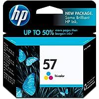 HP 57 Tri-color Original Ink Cartridge (C6657AN) for HP Deskjet 450 5550 5650 5850 9650 9680 HP Officejet 4215 6000 6110 6500 7000 HP Photosmart 7260 7350 7450 7550 7755 7760 7762 7960 HP PSC 1210 1315 1350 2110 2175 2210 2410