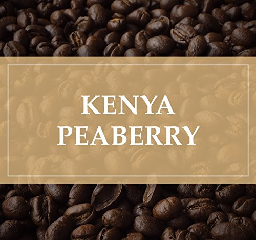 - Kenya Peaberry Plus Rwaikamba Co-op Ngutu 100% Arabica Coffee Beans (Medium Roast (Full City +), 2.5 pounds Whole Beans)