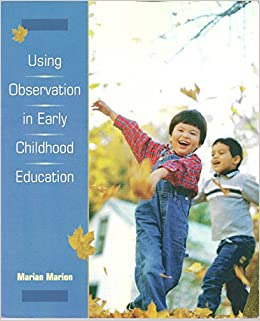 Buy Using Observation In Early Childhood Education Book Online At