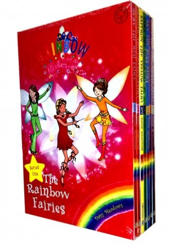 (Rainbow Magic Colour Fairies Collection 7 Books Pack Set (Series 1 to 7) RRP £27.93 ( Ruby the Red Fairy, Amber the Orange Fairy, Saffron the Yellow Fairy, Fern the)