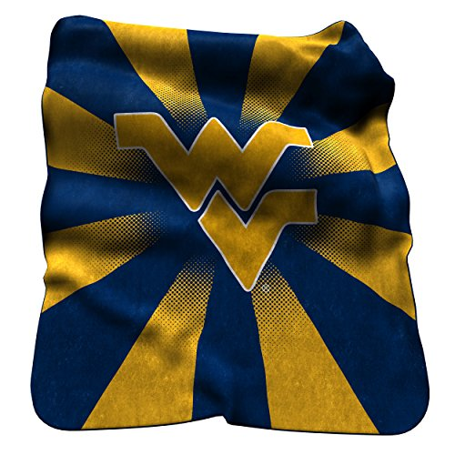 - Logo Brands NCAA West Virginia Mountaineers Raschel Throw Blanket