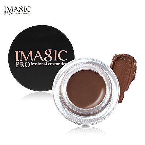 ✔ Hypothesis_X ☎ 6 Color Eyebrow Enhancers Waterproof Long Lasting Eyebrow Gel Cream Makeup Brush Gel Fast Dry
