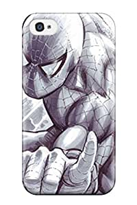 Excellent Iphone 4/4s Case Tpu Cover Back Skin Protector Spiderman