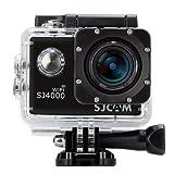 SJCAM SJ4000 WiFi Action Camera Camcorder Video, Full HD 1080P 12MP 170 ° Obiettivo Grandangolare H.264 Impermeabile con gli Accessori Liberi, 4 pin Cavo AV per gli Sport Esterni di Guida Subacquea Sci DVR