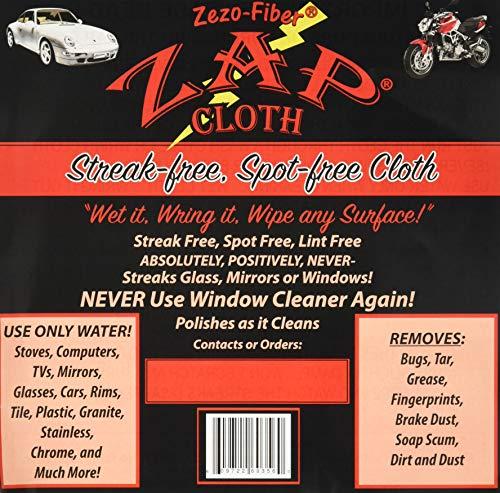 10 Cloths Zezo-Fiber Zap Cloth