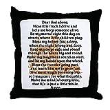 CafePress Truck Driver's Prayer - Decor Throw Pillow (18''x18'')