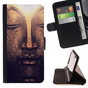 Jordan Colourful Shop -Buddha -- Leather Case Absorciš®n cubierta de la caja de alto impacto FOR Samsung Galaxy S6 Edge G9250 G925F ---
