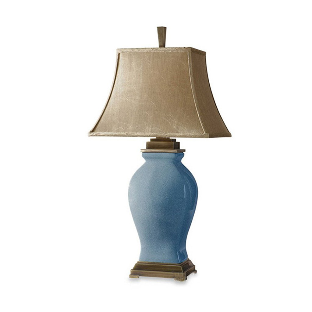 Lamp design modern ceramics light e27 ceramic table lamp(6621)chinese mandarin style perfect for all living rooms bedrooms superb quality desk lamp