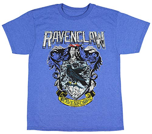 9b315353b Harry Potter Ravenclaw Shirt Kids Boys Distressed House Crest T-Shirt