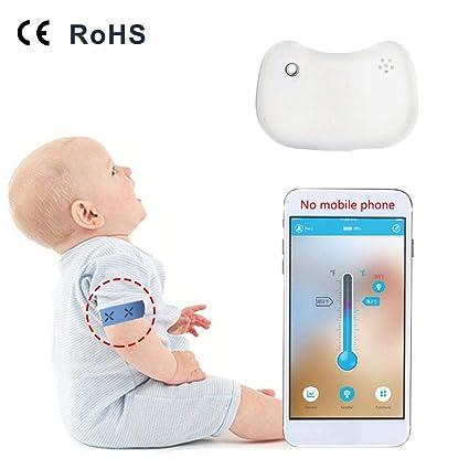 iShine Baby Termómetro inteligente inalámbrica Termómetro ...